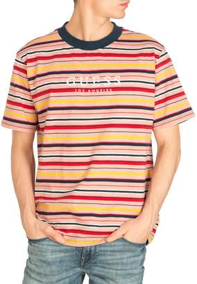 GUESS Striped Cotton Tee