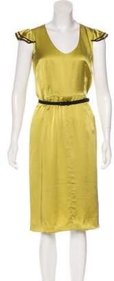 Valentino Silk A-Line Dress w/ Tags