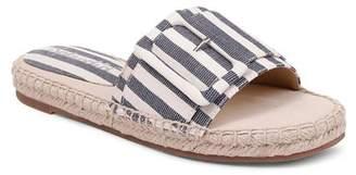Splendid Women's Simpson Buckled Espadrille Slide Sandals