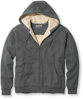 L.L. Bean L.L.Bean Men's Katahdin Iron Works Heavyweight Hooded Sweatshirt, Traditional Fit