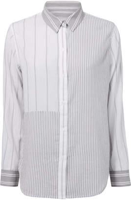 Rails Erika Mixed Grey Stripes Shirt