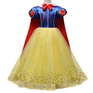 a6d88cb901e2 Smash Wear IMEKIS Childrens Snow White Costume Classic Fancy Dress Fairy  Princess Dressing up Cosplay Costume