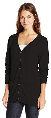 Dockers Women's Boyfriend Cardigan Sweater $66 thestylecure.com