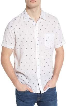 Rails Carson Slim Fit Sailboat Print Sport Shirt