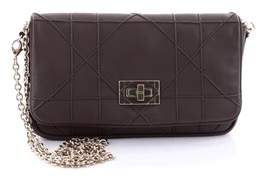 Christian Dior Pre-owned: Turn Lock Chain Wallet Cannage Quilt Leather Small.