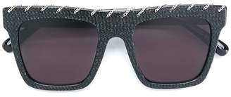 Stella McCartney Eyewear square chain sunglasses