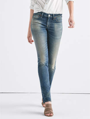 Lucky Brand Sweet Mid Rise Tinted Straight Jean