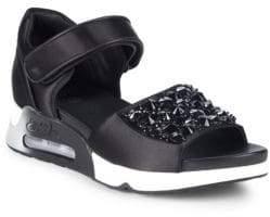 Ash Embelished Sport Sandals