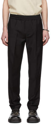 47a20b0d7550 Acne Studios Black Wool and Mohair Ryder Trousers