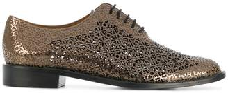 Clergerie cut out design brogues