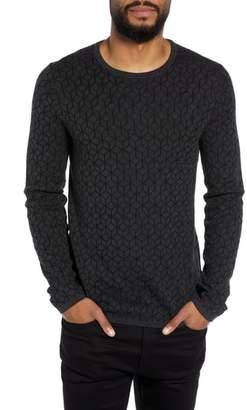 HUGO Scuber Slim Fit Diamond Sweater