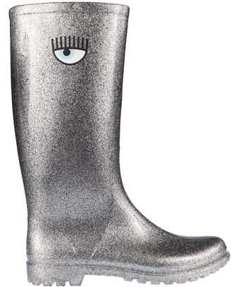Chiara Ferragni Glitter Boots