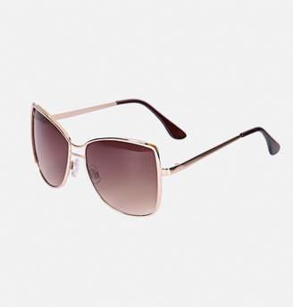 Avenue Square Metal Sunglasses