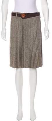 Gunex Virgin Wool Knee-Length Skirt