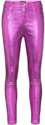 RtA Madrid skinny leather trousers