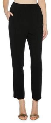 Agnona Cropped Cady Stretch Pants