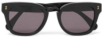 Illesteva Positano Square-Frame Acetate Sunglasses - Men - Black