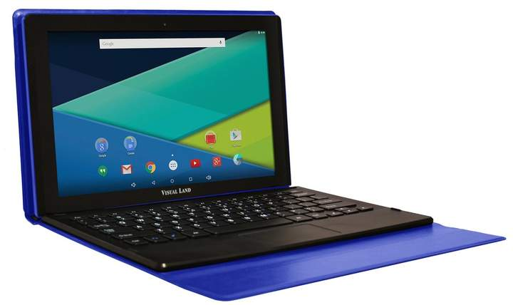 Visual Land Prestige Elite 11Q Quad Core 32GB 11.6-Inch Android 5 Lollipop Tablet with Docking Keyboard Case (ME11QKC32MAG)