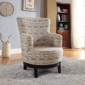 Leonel Signature Nathaniel Home Gianna Swivel Accent Chair