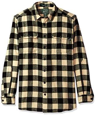 Woolrich Men's Tall Size Oxbow Bend Flannel Shirt Long