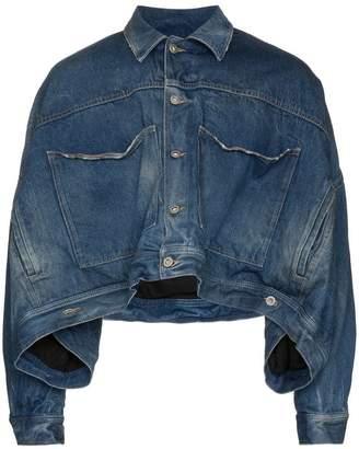 Diesel Red Tag cropped denim jacket