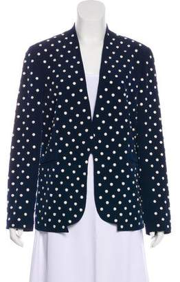 Diane von Furstenberg Paulette Pearl Embellished Jacket