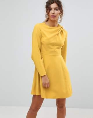 Asos Twist Neck Mini Dress