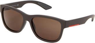 Prada Sport SPS 03Q Grey Wayfarer Sunglasses