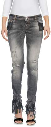 Philipp Plein Denim pants - Item 42666422WN