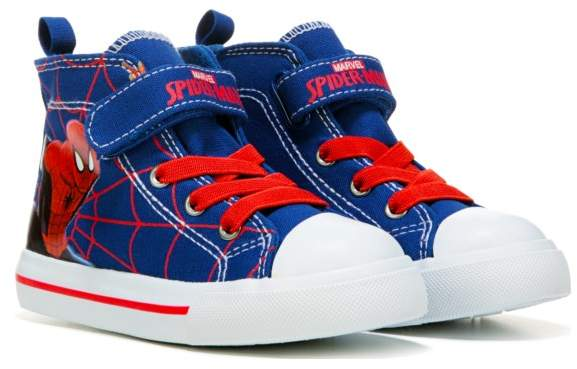 Spider-Man Kids' Spiderman Web High Top Sneaker Toddler/Preschool