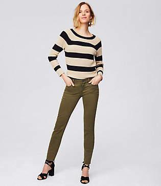 LOFT Modern Fresh Cut Skinny Crop Jeans