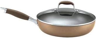 Anolon Advanced Hard-Anodized Nonstick 12-inch Covered Ultimate Skillet/Saute Pan