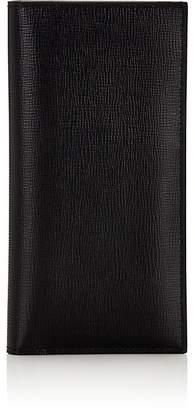 Valextra Men's Vertical Folding Wallet