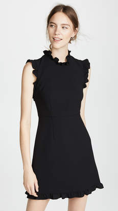 Jill Stuart Ruffle Hem Dress