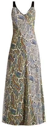 Diane von Furstenberg Barton Paisley Print Silk Dress - Womens - Multi