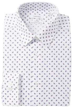 Calvin Klein Print Slim Fit Dress Shirt
