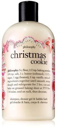 Philosophy (NEW) philosophy christmas cookie shampoo, shower gel & bubble bath 480ml