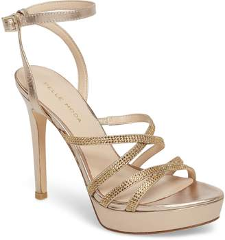 Pelle Moda Oak Platform Sandal