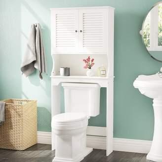 "Three Posts Bolanos 27.36"" W x 63.75"" H Over the Toilet Storage"