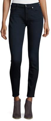 7 For All Mankind B(Air) Denim High-Waist Skinny Jeans, River Thames