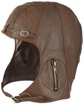 Rothco Leather Aviator Pilot Helmet Cap