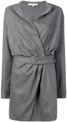 Vanessa Bruno belted wrap dress