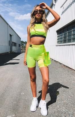 Bb Exclusive Neo Bike Shorts Fluro Yellow