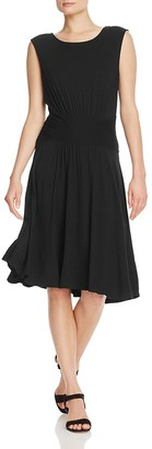 B Collection by Bobeau Knit Fit-and-Flare Dress - 100% Exclusive $72 thestylecure.com