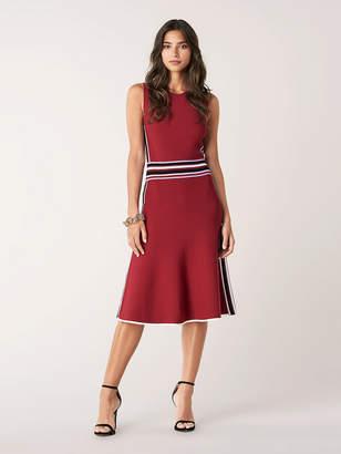 Diane von Furstenberg Elsie Stretch-Knit Knee-Length Dress