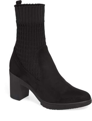 Wonders Heeled Knit Bootie