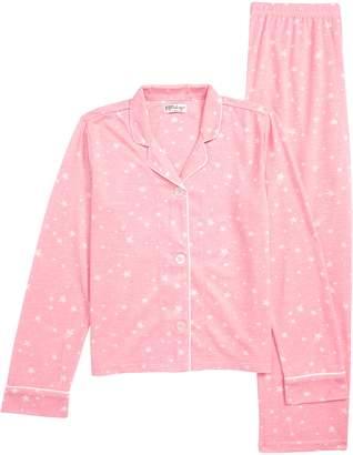 PJ Salvage Star Print Two-Piece Pajamas