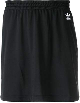adidas short logo skirt
