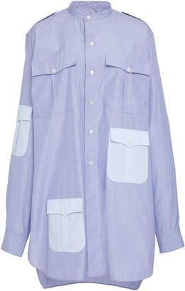 J.W.Anderson Contrast Pockets Workwear Shirt