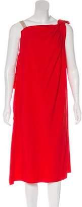 Giles One-Shoulder Midi Dress
